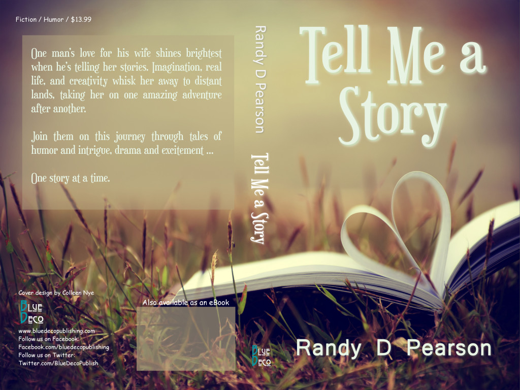 Full cover of my short story collection - Tell Me a Story